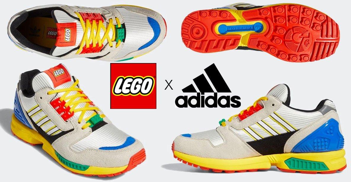 LEGO x Adidas cross-marketing