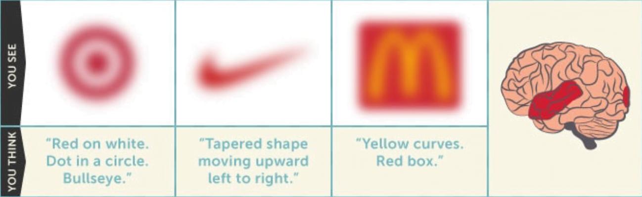 Cosa accade quando vedi un logo - Fase 1