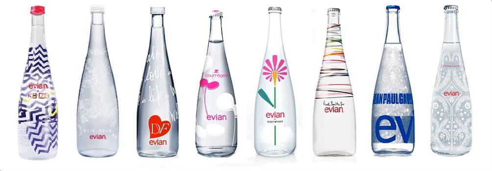 Evian - fashion co-branding