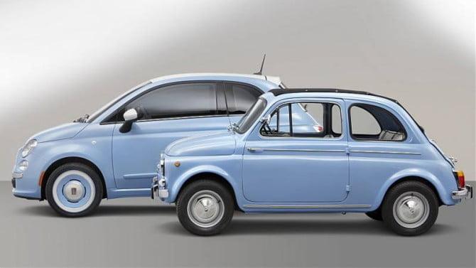 Fiat 500 a confronto