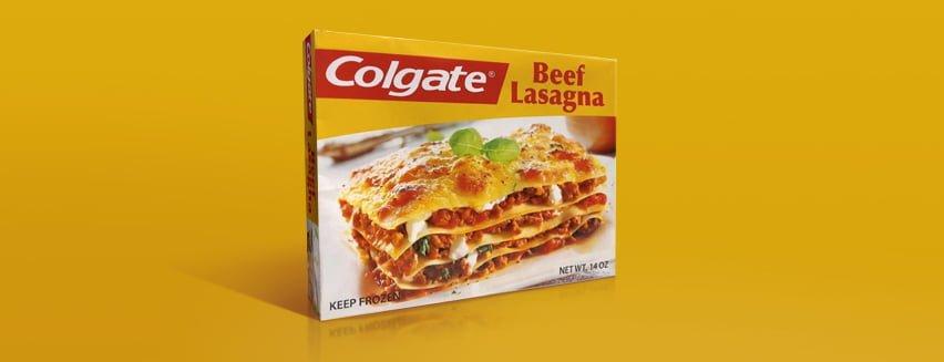 Estensione di categoria di Colgate, lasagne precotte