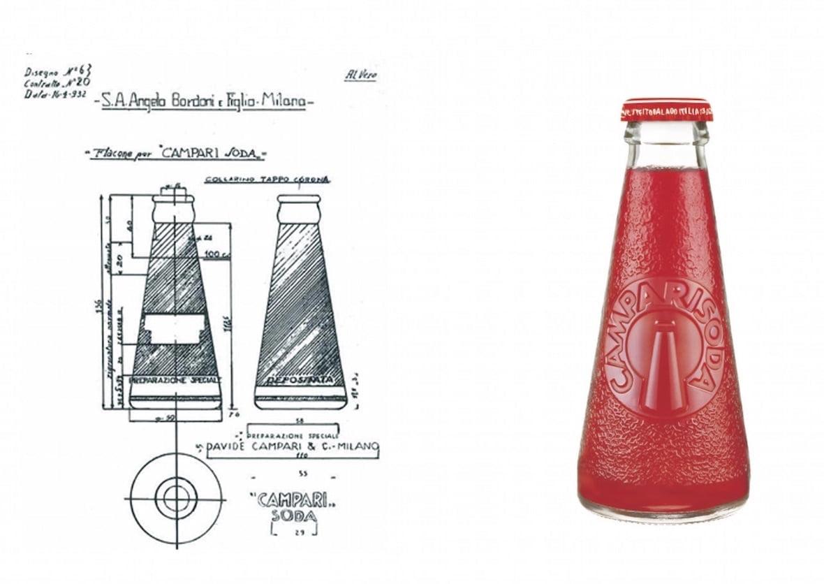 progettazione depero per campari soda