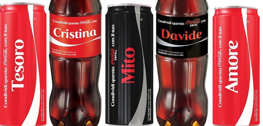 """Campagna """"share a coke"""""""