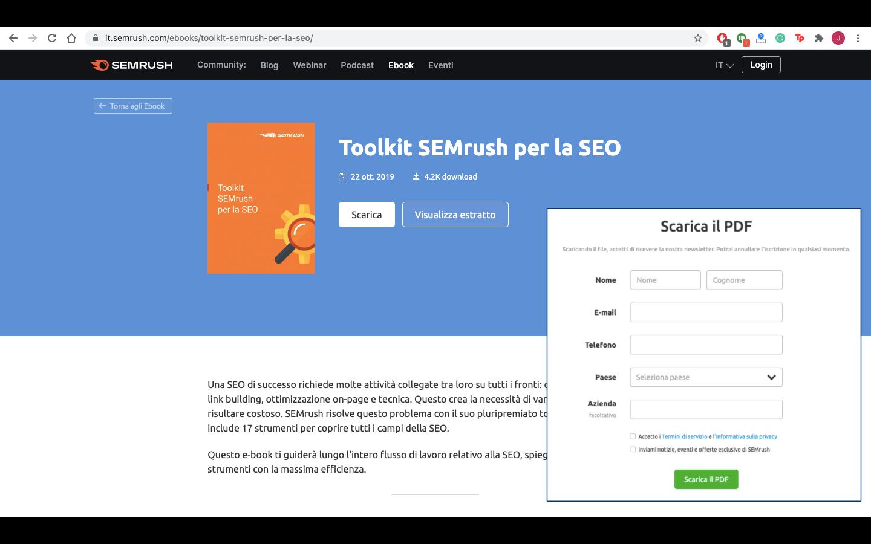 Inbound Marketing - Semrush