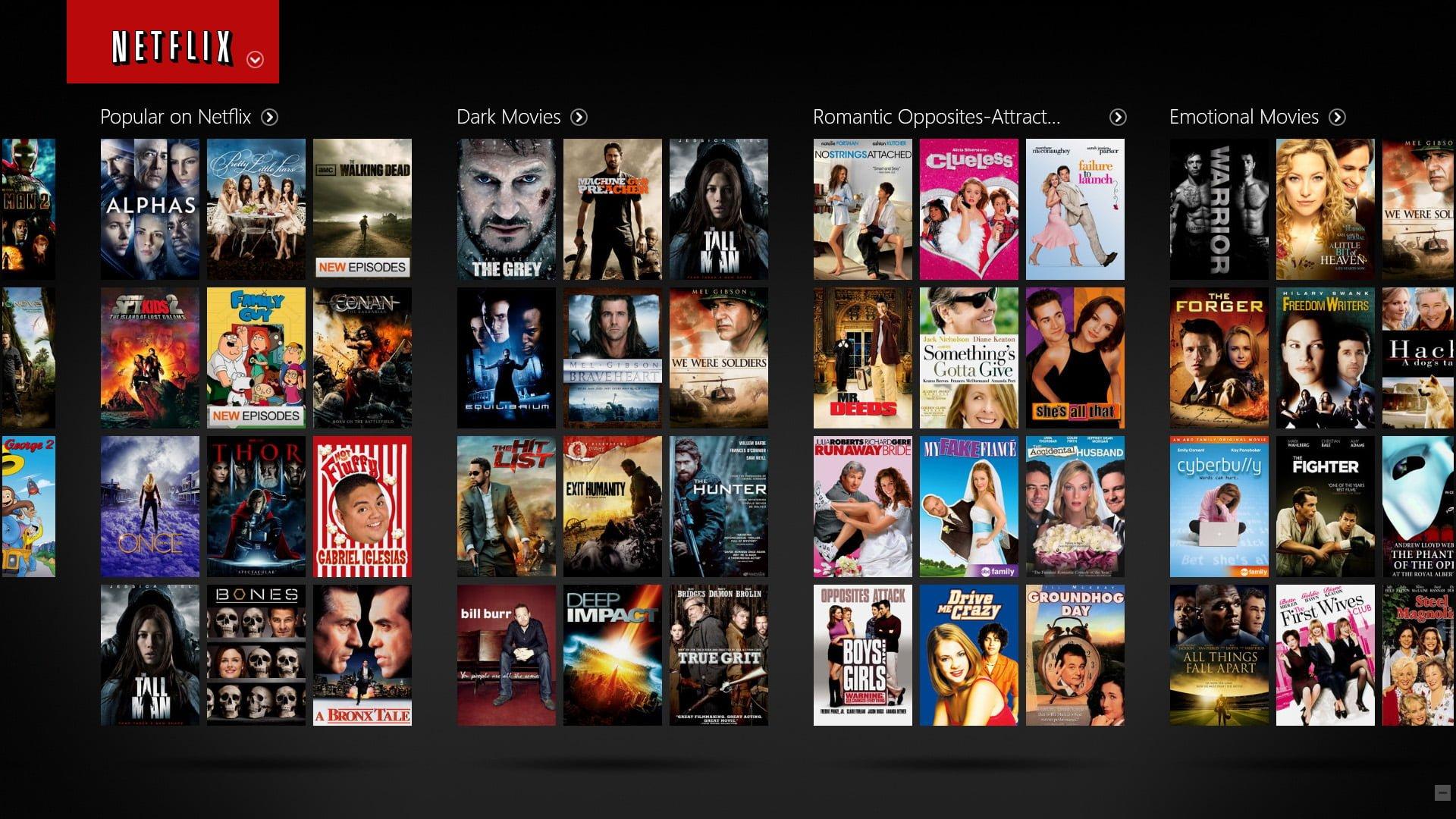 Netflix Catalogo