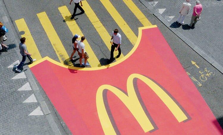 Strisce patatine McDonald's