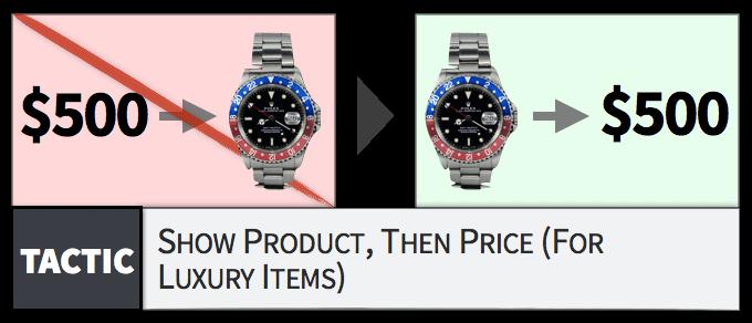 prodotti lusso