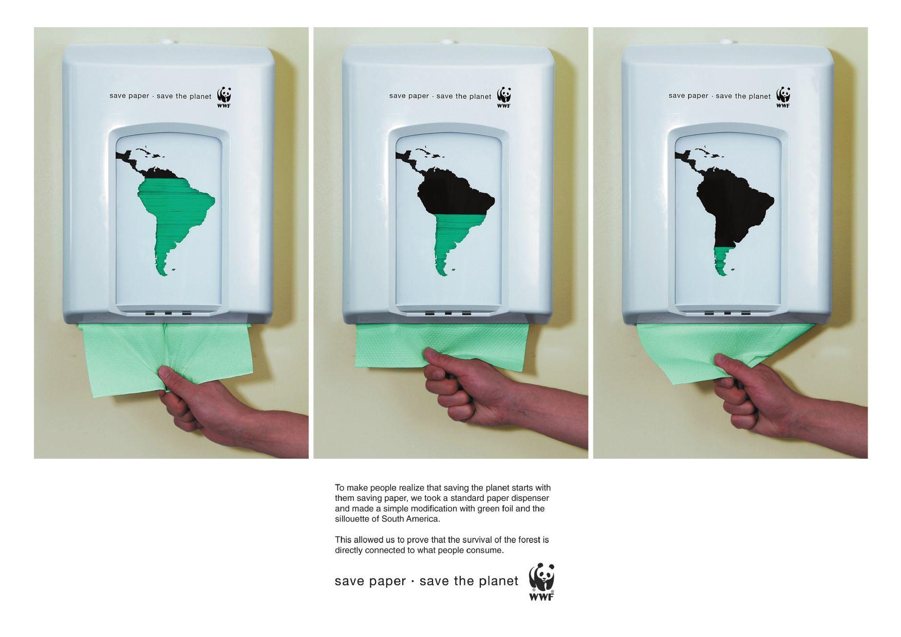 Dispencer di carta WWF