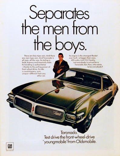 Pubblicità Cadillac di Burnett