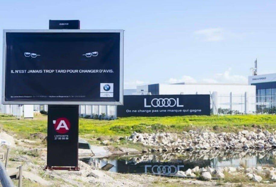 Guerrilla Marketing Audi e BMW