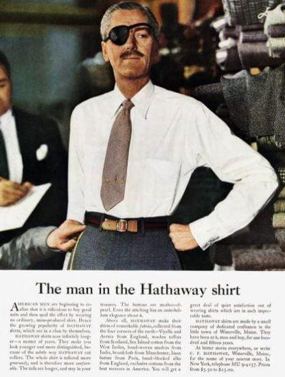 Hathaway annuncio Ogilvy