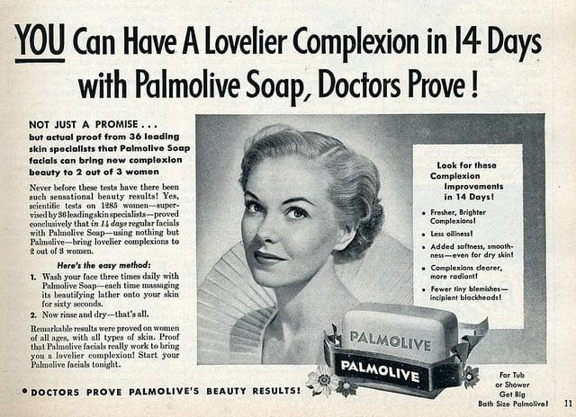 Annuncio Palmolive Reeves