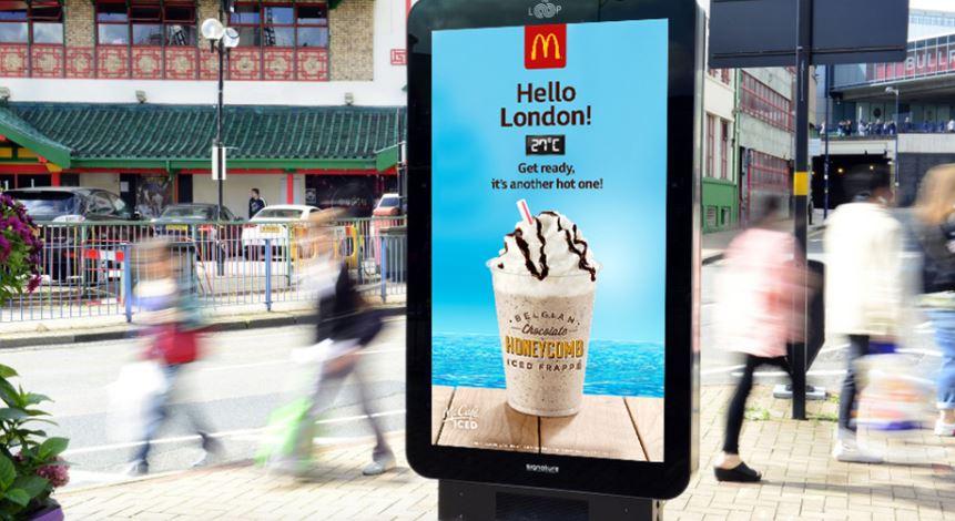 DOOH McDonald's