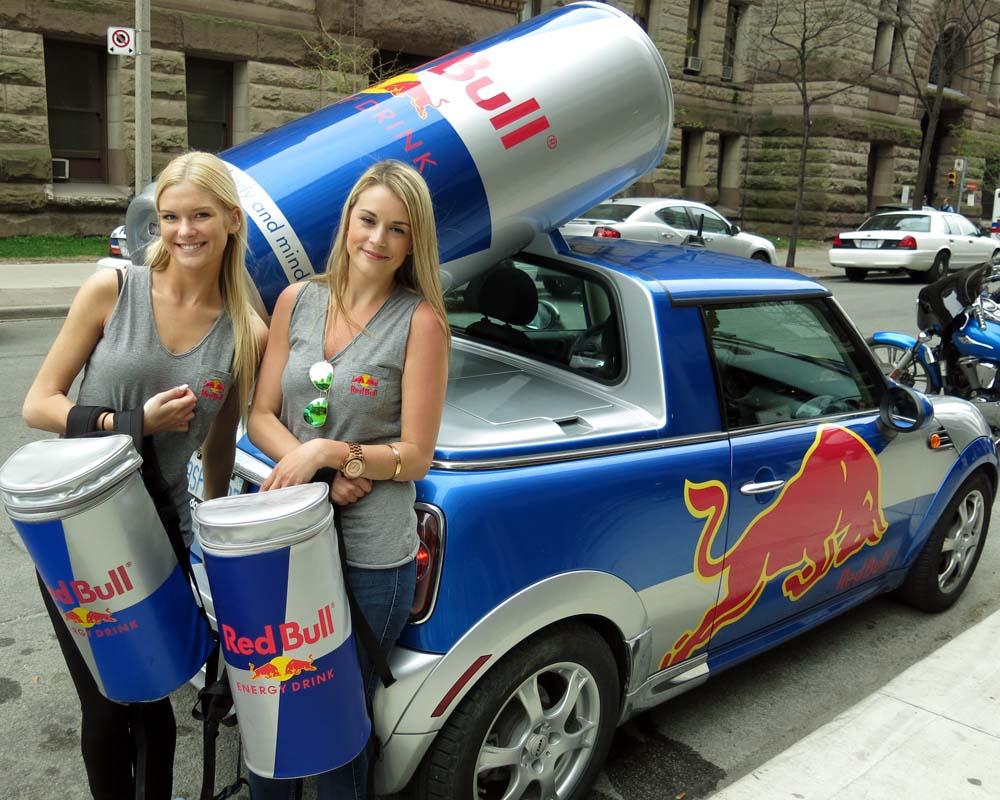 Marketing non convenzionale Red Bull