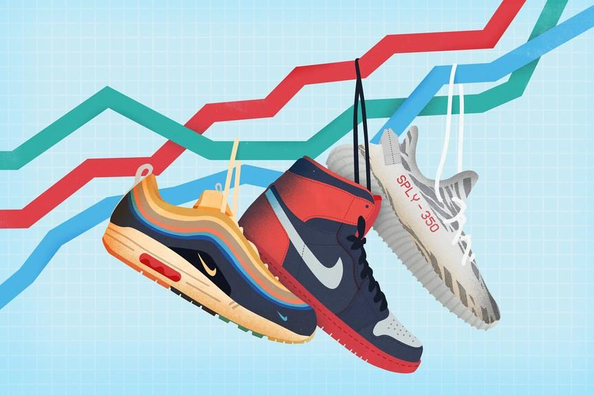 reselling marketin sneakers borsa