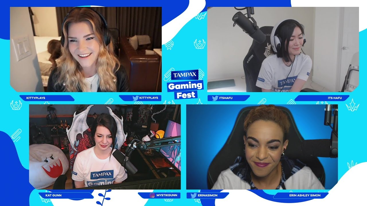 Tampax Gaming Fest