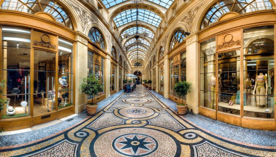 vetrine parigi storia