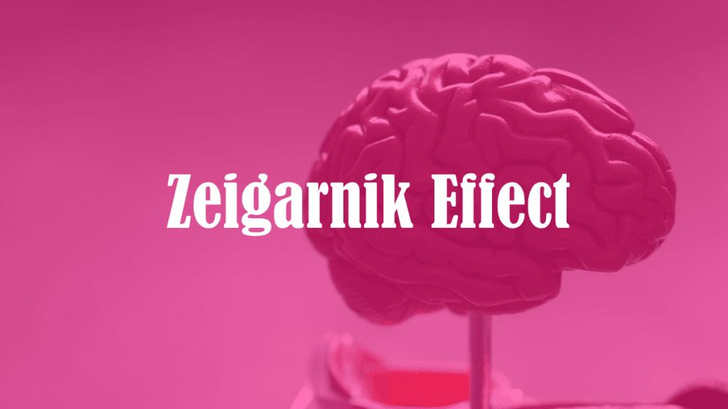 effetto Zaigarnik