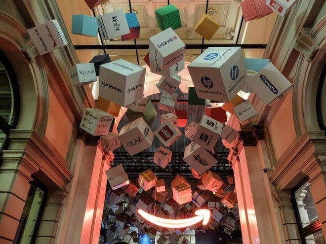 Amazon Pop Up Store Milano