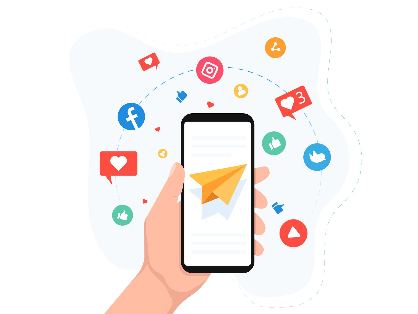 social media direct marketing